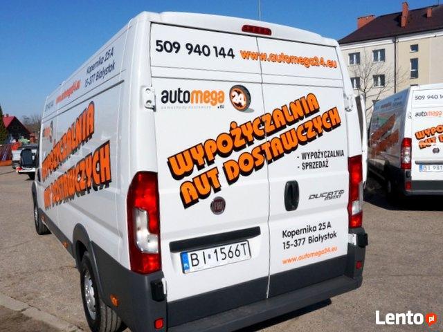Wynajem długoterminowy samochodów dostawczych Białystok