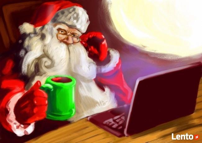 idą święta, grafika na święta i nowy rok