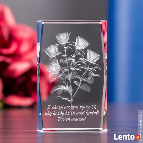 Piękny prezent dla mamy - Bukiet Róż 3D z Twoją