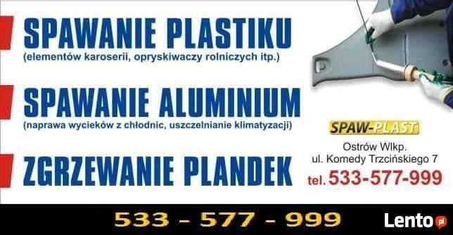 Naprawa/ SPAWANIE plastikowych elem. (samochody, motocykle)