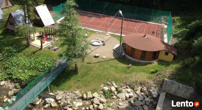 Ośrodek Wczasowy nad Wodospadem, nad Jeziorem Żywieckim- 1ha