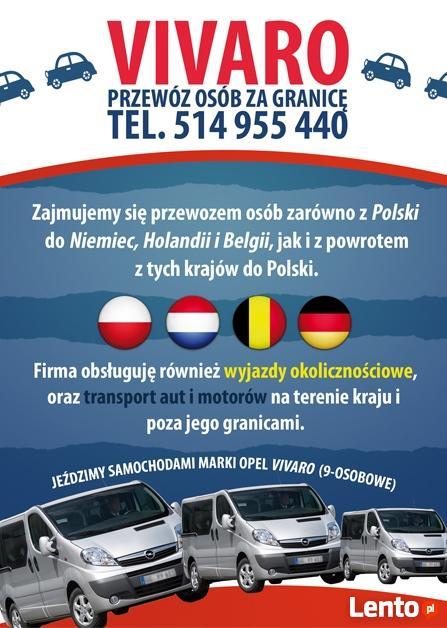 PLONSK PLOCKA HOLANDIA BELGIA NIEMCY TRANSPORT MIEDZYNARODOW