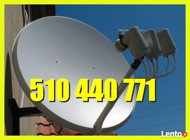 Montaż Serwis Anten SAT-DVB-T Warszawa WAWER,OCHOTA,MOKOTÓW,
