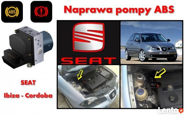 Naprawa pompy ABS SEAT Ibiza Cordoba tel. 692_274_666 ASR
