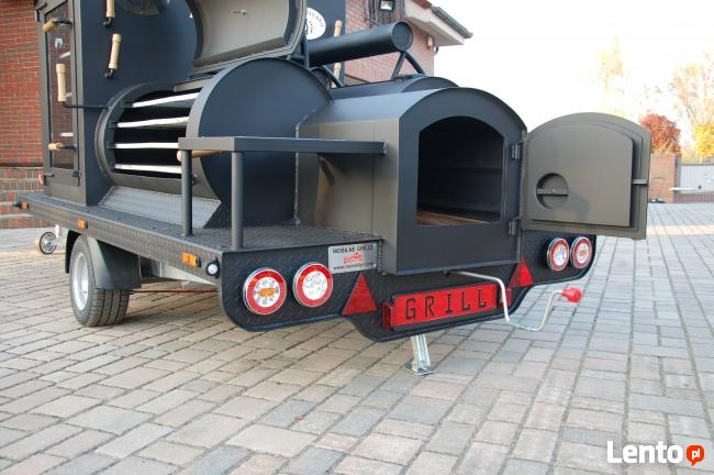 Grill na przyczepie, grill do restauracji Route66Grill