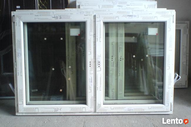 Okno białe pcv 1465X1435 UR+R dostawa/montaż !!!