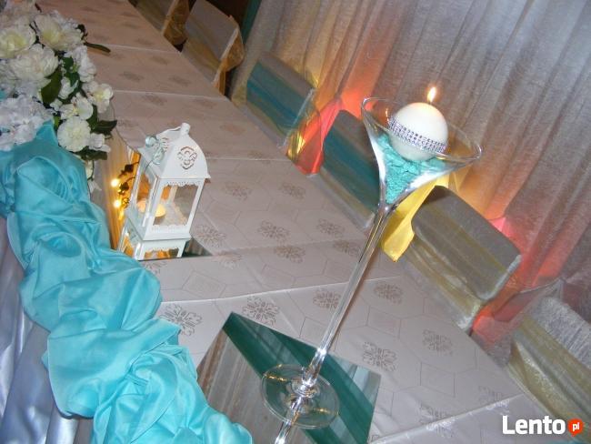 Dekoracje SAL WESELNE Carolla na ślub, wesele... super ceny