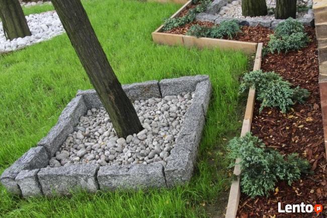 Kamień murowy z granitu KRAWĘŻNIK murak kostka