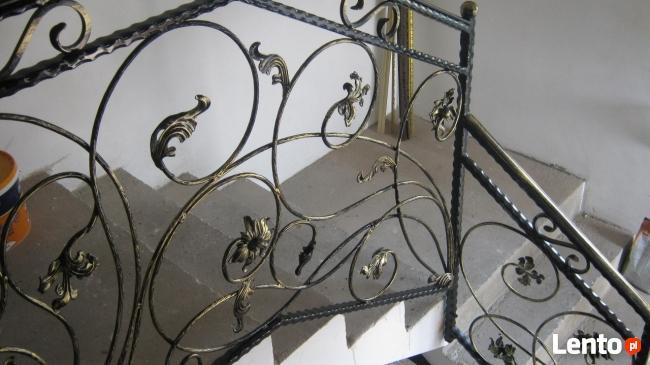 malowanie natryskowo ogrodzenia barierki schody elewacje ści