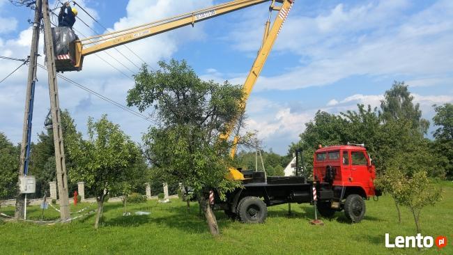Usługi Podnośnikiem terenowym 4x4 Krakóe i okolice