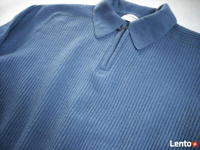 Wełniany sweter męski Ciepły Gruby wełna M