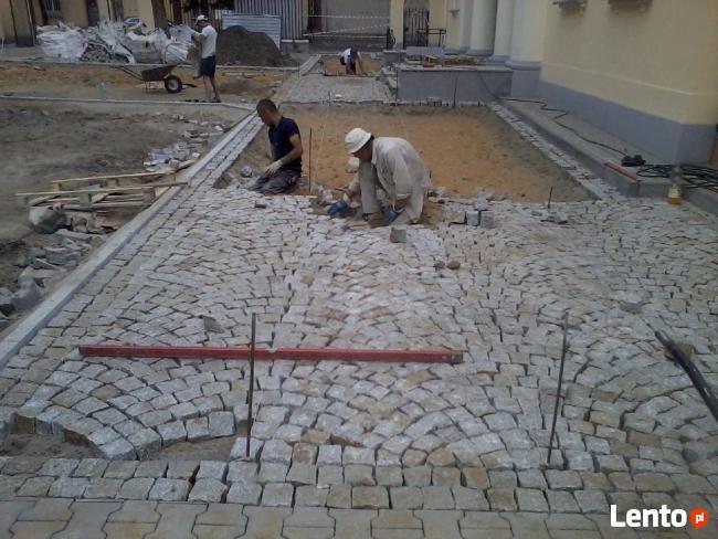 Brukarz kostka granitowa betonowa