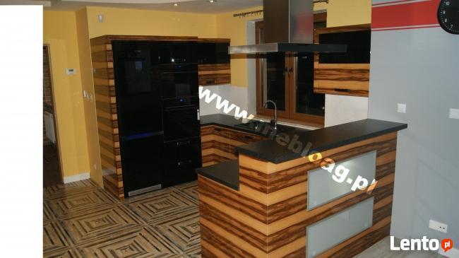 Meble na wymiar : kuchnie, szafy, garderoby, meble biurowe