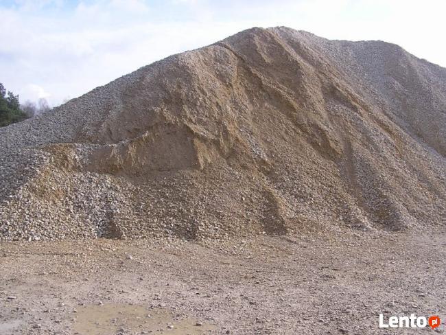 Transport Żwir płukany drenarski drenaże odwodnienia kamień