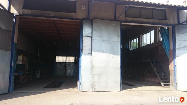 Dwie hale -Warsztat + Myjnia = 320 m - sprzedam -wynajmę.