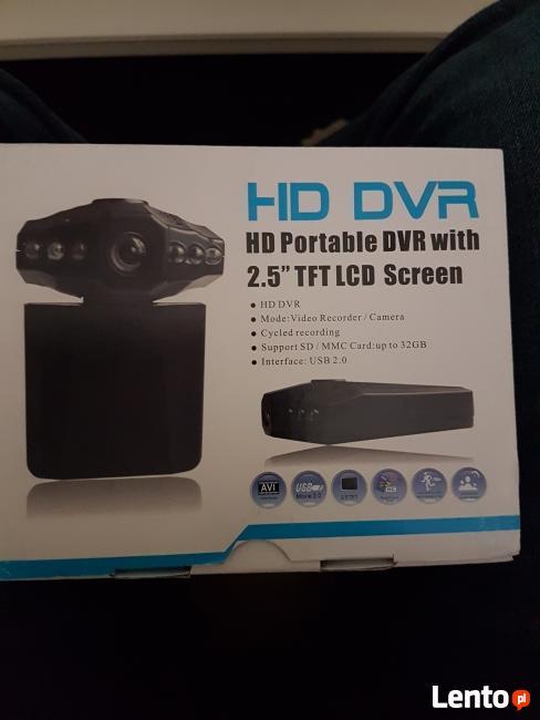 Kamera samochodowa rejestrator jazdy hd menu PL + GRATIS