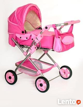 Wózek lalkowy uniwersalny z przekładaną rączką - NOWY-