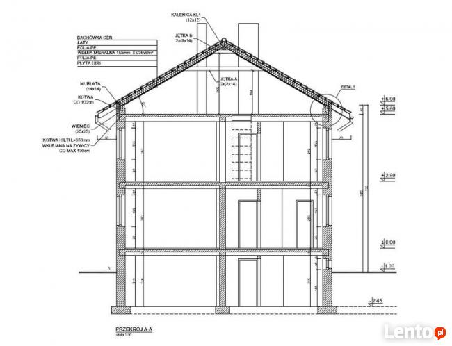 Inwentaryzacje budowlane, dokumentacja techniczna 2D, 3D