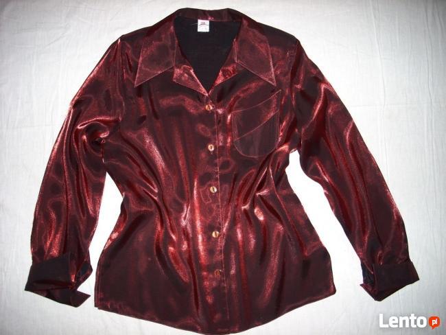 Wizytowa Koszula Błyszcząca Święta j Nowa 40 42