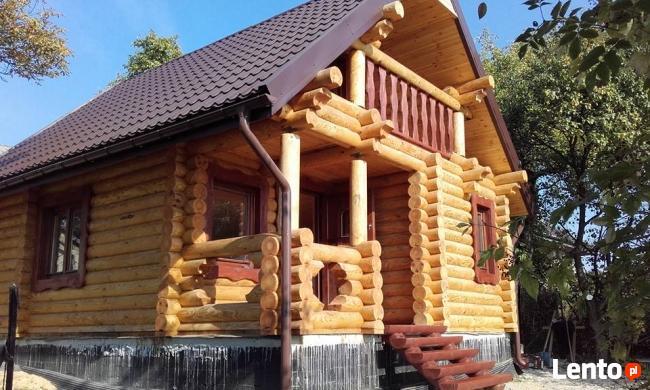 Produkujemy bale i budujemy domy z bali sosnowych