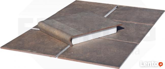 płytki ZEBRINA ścienne elewacyjne KLINKIER wood RUST fromag