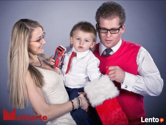 Zdjęcia rodzinne, indywidualne. Prezent na Święta.