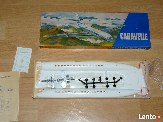 Caravelle 1:100 VEB Plasticart - Antyk z 1969r