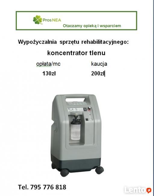 Cudowna Koncentrator tlenu Kielce TH64