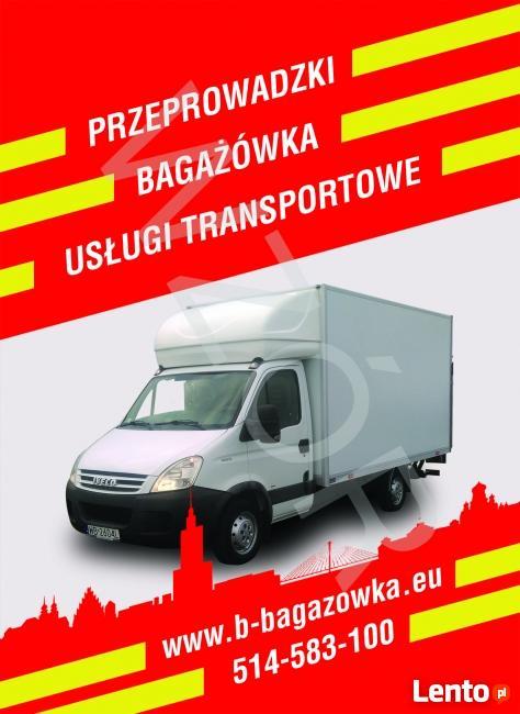 Transport Przeprowadzki Taxi Bagażowe Usługi Transportowe