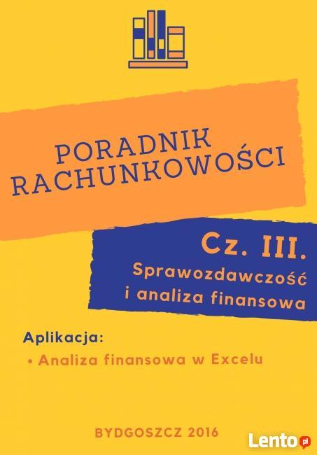 Poradnik rachunkowości - Sprawozdawczość i analiza finansowa