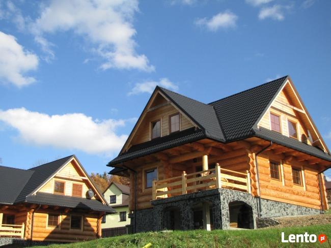 gonty drewniane domy drewniane z bali góralskie