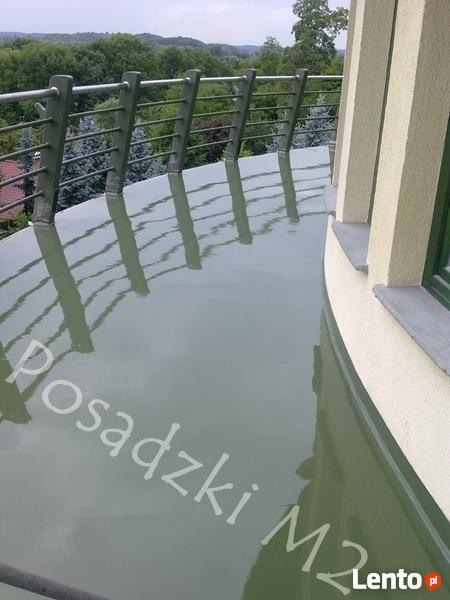 Posadzki żywiczne na balkony, tarasy, garaże