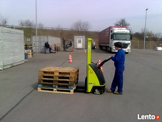 Kurs na wózki widłowe Przemyśl. Cena promocyjna