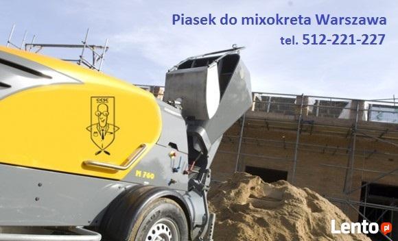 Dostawa transport piasku Legionowo Łajski Jabłonna Chotomów