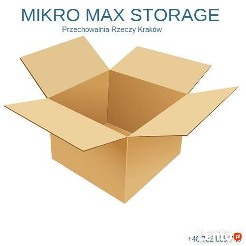 Przechowalnia Rzeczy Mikro Max Storage. Magazynowanie mienia