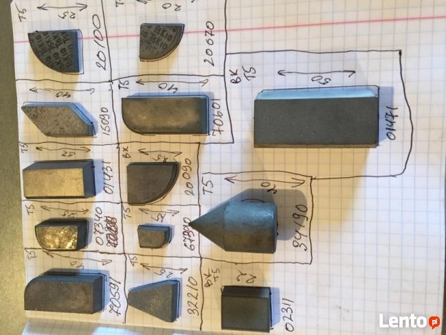 Płytki skrawające węglikowe(widia)