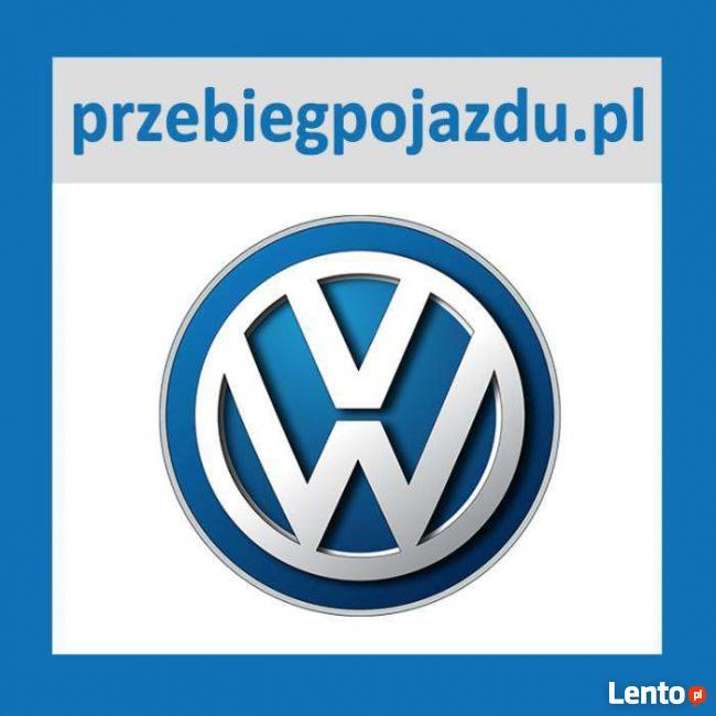 Sprawdzenie przebieg, historia serwisowa VIN VW VOLKSWAGEN
