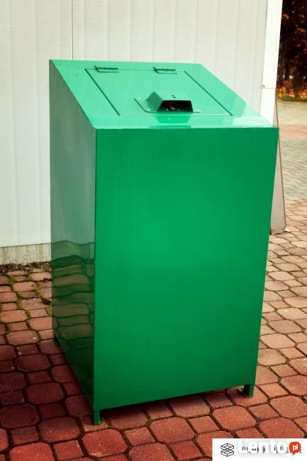 Pojemnik na śmieci z zabezpieczeniem przeciw niedźwiedziom