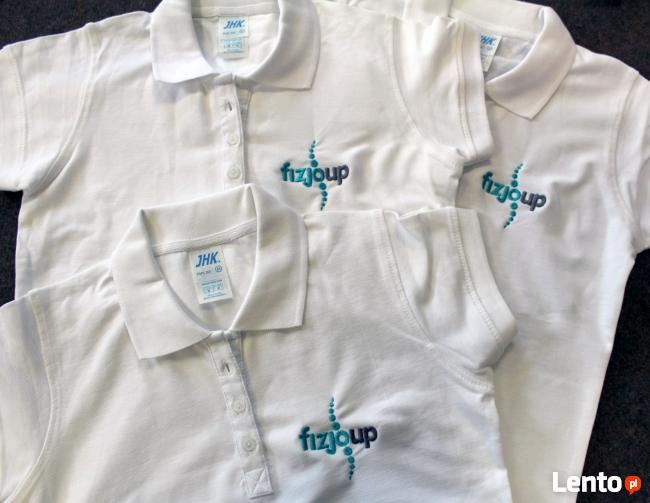 Koszulki T-shirt Polo z haftem, Twój napis, logo firmy