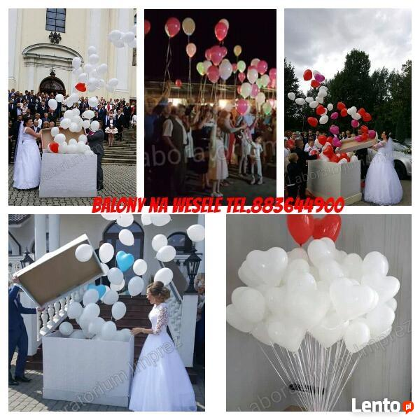 Balony z helem Rybnik napełniamy najlepiej tel.883644900
