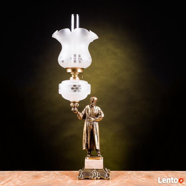 Ignacy Łukasiewicz- elegancka lampa naftowa- na prezent