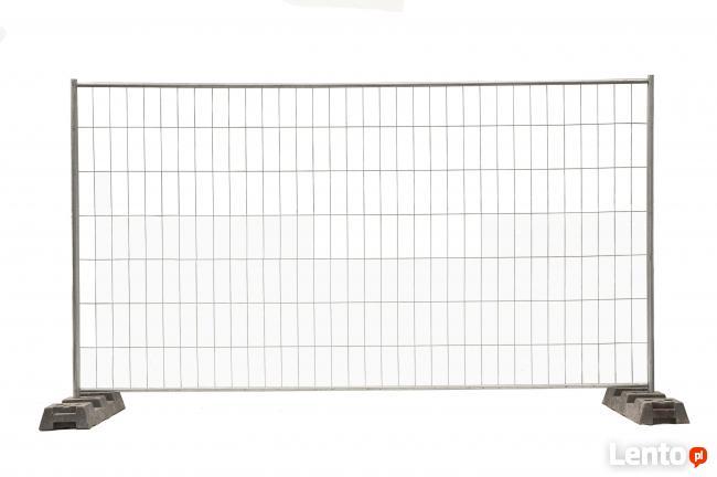Ogrodzenia ogrodzenie tymczasowe budowlane SET A4