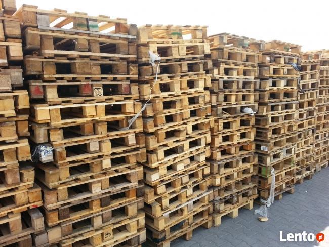 Paleta drewniana UŻYWANA jednorazowa palety jednorazowe