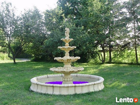 Piękna Duża Fontanna ogrodowa dostawa + pompa gratis