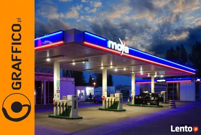 Branding, rebranding sieci handlowych i stacji paliw