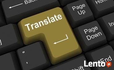 Tłumaczenia POL-ANG ANG-POL