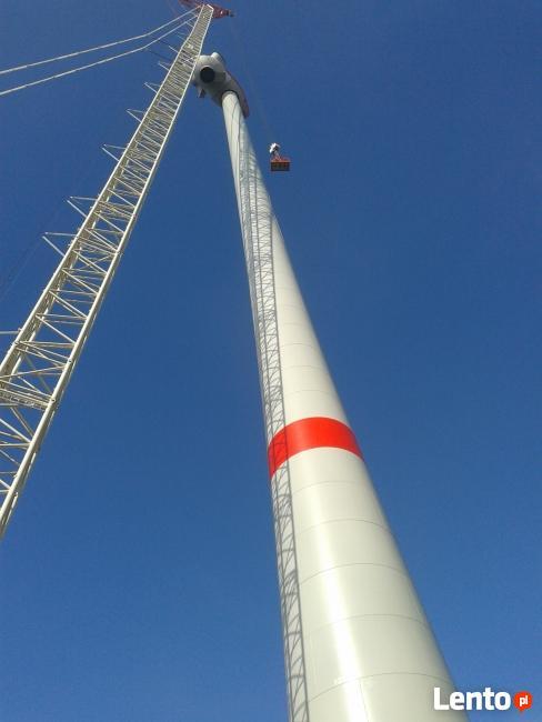 Monter turbin wiatrowych-szukamy prace