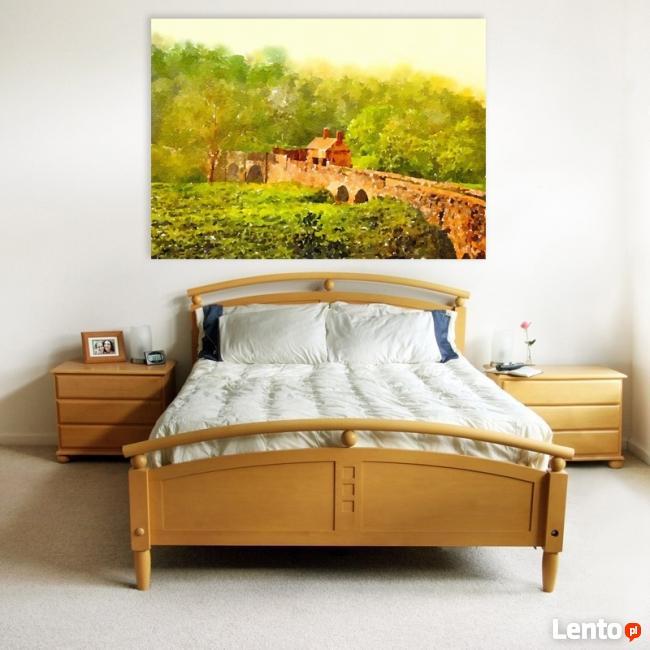 PEJZAŻ obraz na w 100% bawełnianym płótnie 100x70cm