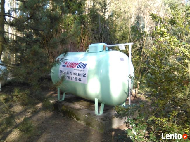 Zbiornik na gaz NOWY 2700 ZIELONY