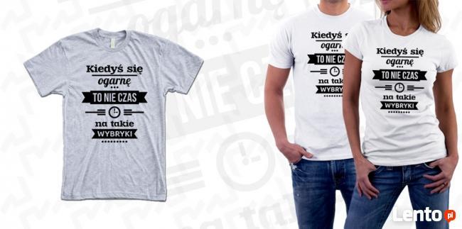 Koszulka z Twoim WŁASNYM NADRUKIEM od 1 sztuki! Full color!